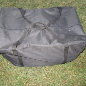 20 x 40 PVC Pole Tent Canopy Carrying Case 3