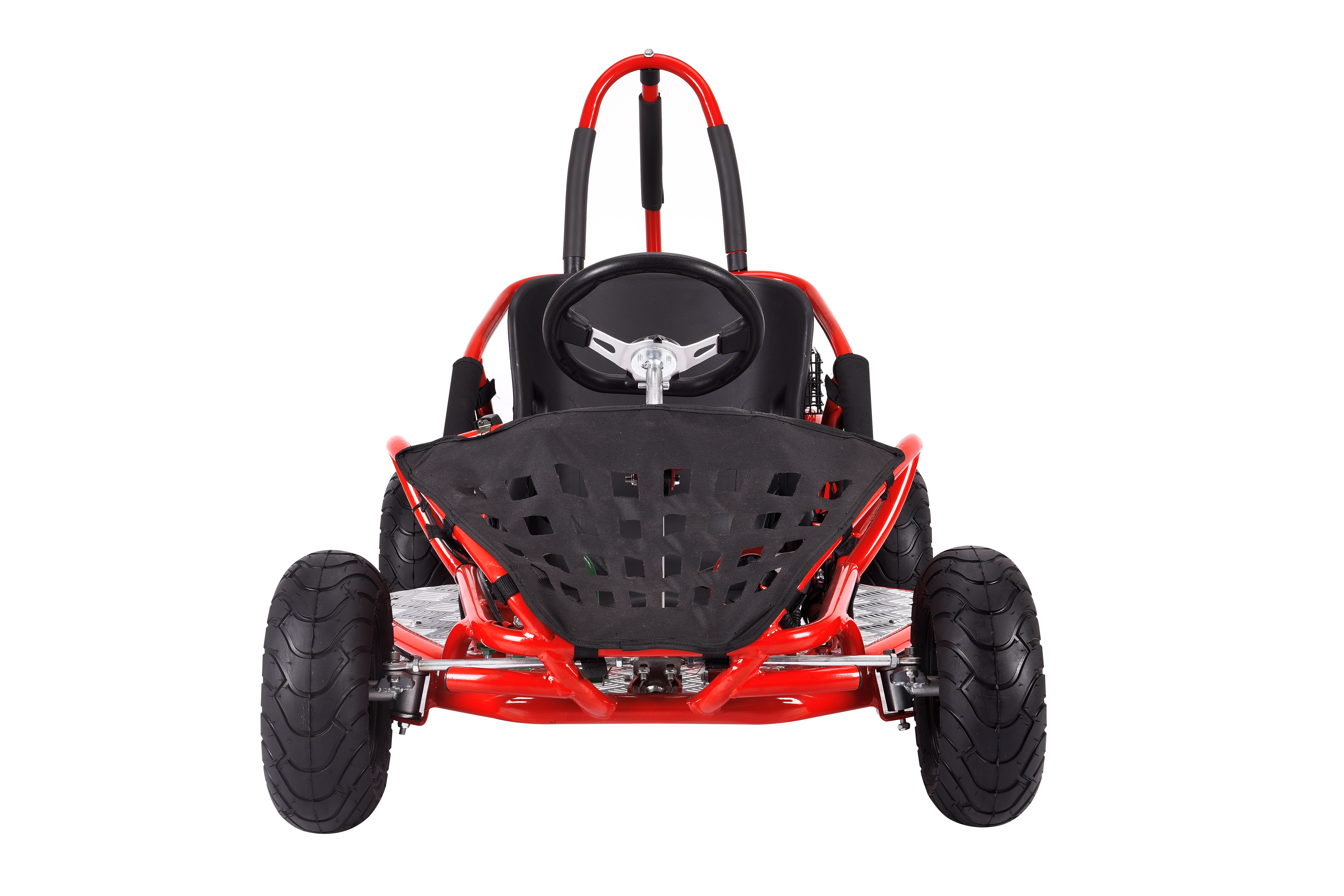 79cc Off Road Gas Go Kart Mini Quad Red Amp Black