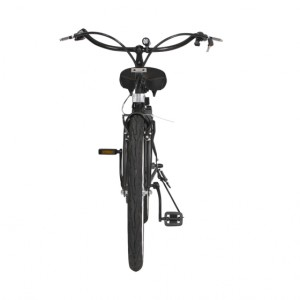 South Beach Step Through Electric Bicycle Cruiser - Black 5