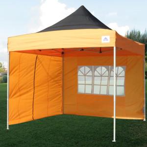 10 x 10 Orange Pop Up Tent Canopy 2