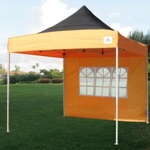 10 x 10 Orange Pop Up Tent Canopy 3