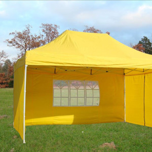 10 x 15 Yellow Pop Up Tent