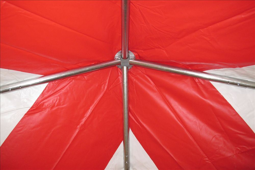 10 X 10 Pvc Party Tent Canopy Red Amp White