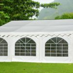 20 x 20 White PVC Party Tent Canopy 3
