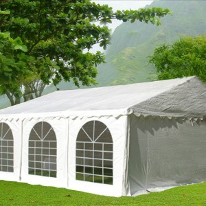 20 x 20 White PVC Party Tent Canopy 4