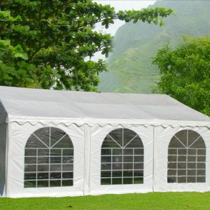 20 x 20 White PVC Party Tent Canopy 5
