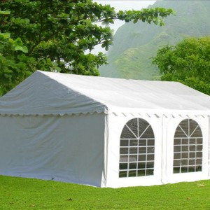 20 x 20 White PVC Party Tent Canopy 6