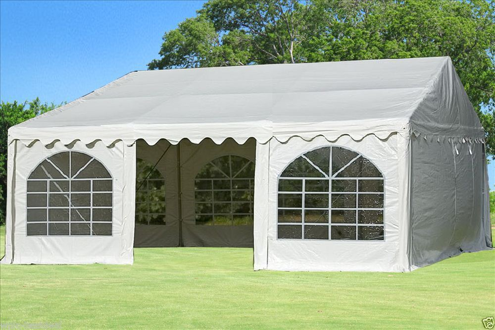20 x 20 white pvc party tent canopy. Black Bedroom Furniture Sets. Home Design Ideas
