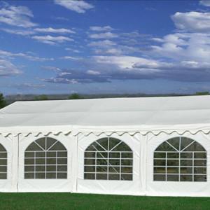 26 x 20 White PVC Party Tent 2