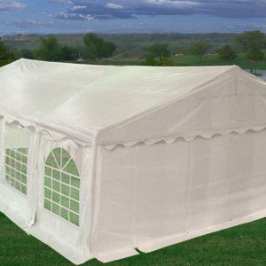 26 x 20 White PVC Party Tent 3