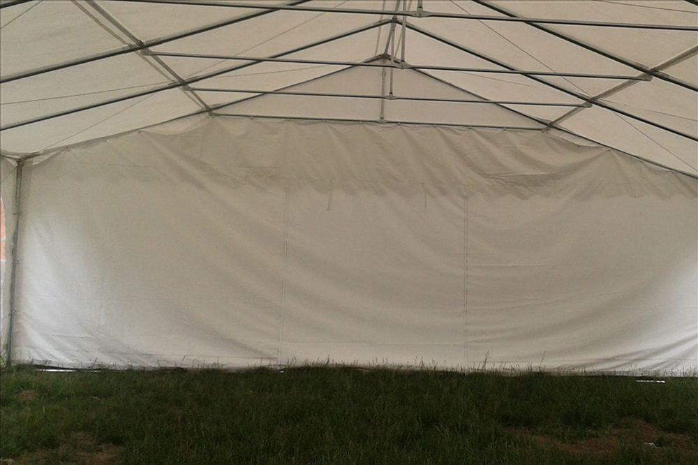 26 X 20 White Pvc Party Tent