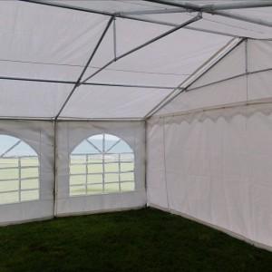 40 x 20 White PVC Combi Party Tent - Inside