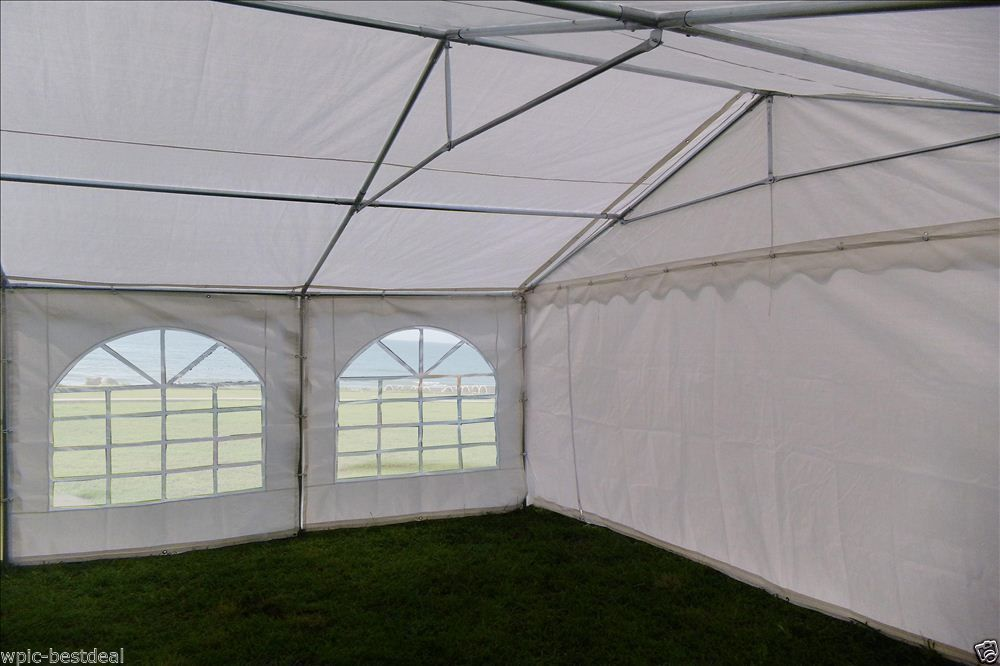 40 X 20 White Pvc Combi Party Tent 4 Combinations
