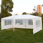 10 x 20 White Party Tent Canopy - 4 Sidewalls 2