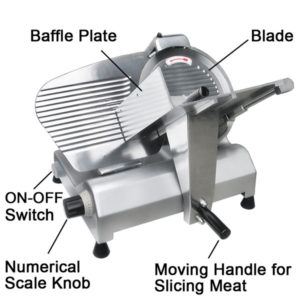 12 Inch Electric Commercial Food Slicer 3