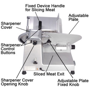 12 Inch Electric Commercial Food Slicer 4