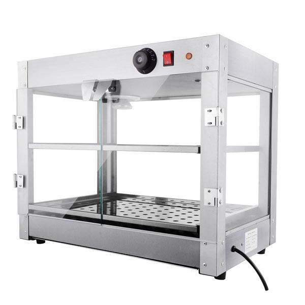Food Warmer Display Case ~ Tier food warmer display case cabinet