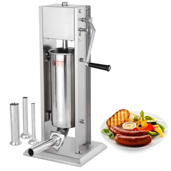 20lb Commercial Sausage Stuffer With 2 Speeds