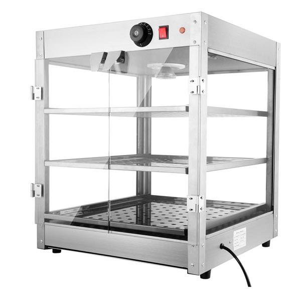 Food Warmer Cabinet ~ Tier food warmer display case cabinet