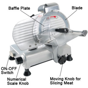 8 Inch Electric Commercial Food Slicer 2