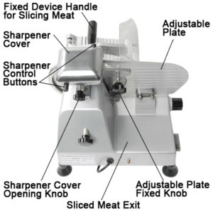 8 Inch Electric Commercial Food Slicer 3