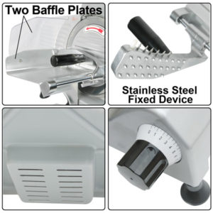 8 Inch Electric Commercial Food Slicer 5