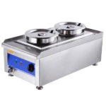 Dual Countertop Buffet Food Warmer Steam Table