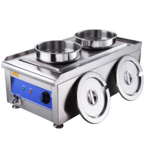 Dual Countertop Buffet Food Warmer Steam Table 2