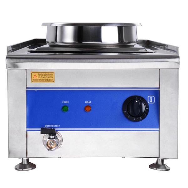 Table Food Warmer ~ Dual countertop buffet food warmer steam table w qt