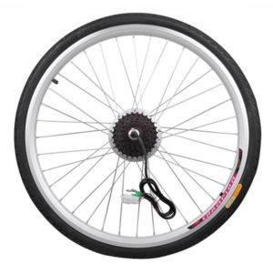 250 Watt 26 Inch Rear Wheel Electric Bicycle Motor Kit 36v 2