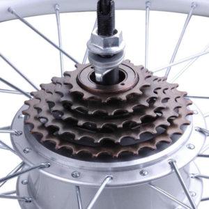250 Watt 26 Inch Rear Wheel Electric Bicycle Motor Kit 36v 3