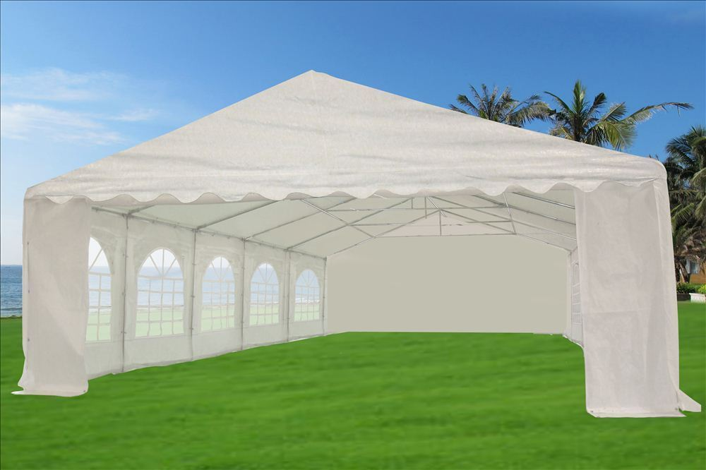 32 X 20 Heavy Duty White Party Tent