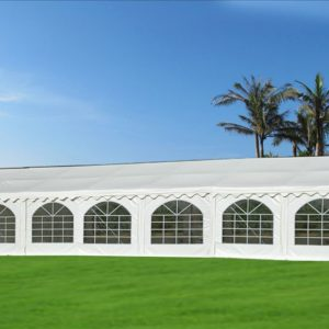 46 x 26 White PVC Party Tent Canopy 2