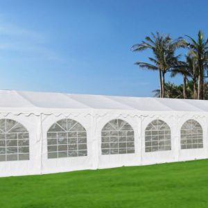 46 x 26 White PVC Party Tent Canopy 3