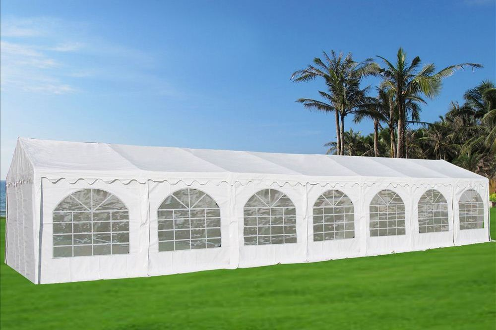 46 x 26 white pvc party tent canopy. Black Bedroom Furniture Sets. Home Design Ideas