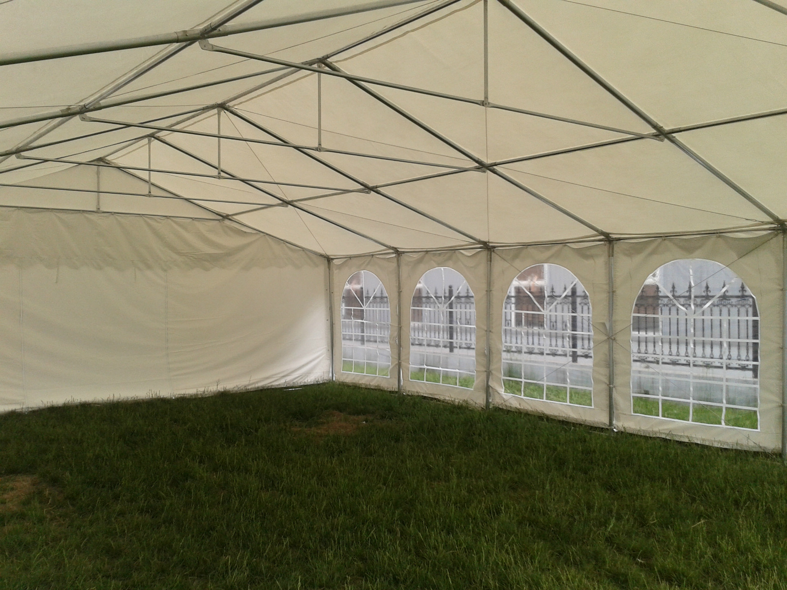 46 x 26 white pvc party tent canopy