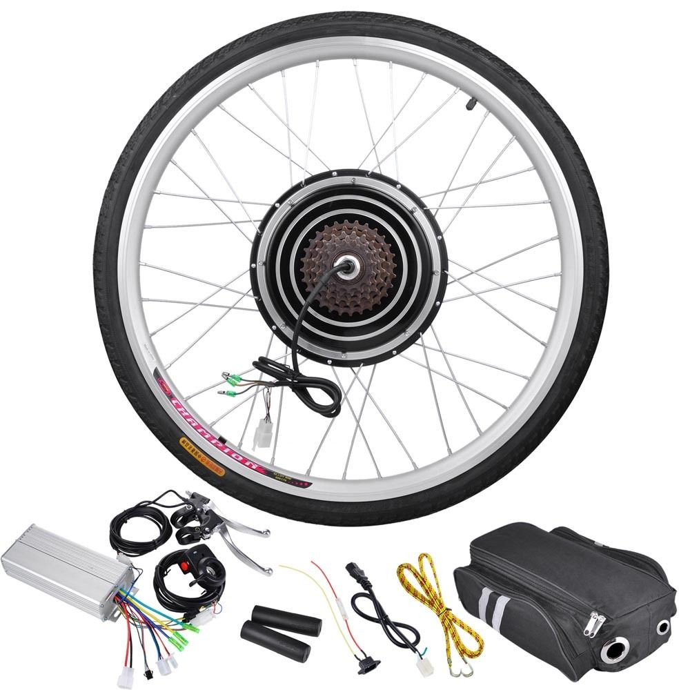 500 watt 26 inch rear wheel electric bicycle motor kit 36v