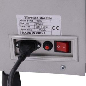 Full Body Vibration Machine Silver 6