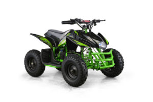 Titan Kids Electric ATV Mini Quad - Green 2