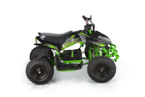 Titan Kids Electric ATV Mini Quad - Green 3