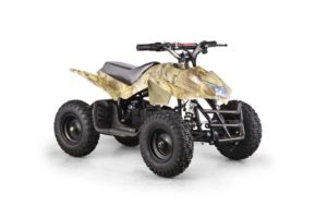 Titan Kids Electric ATV Mini Quad - Oak Camo 3