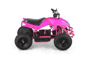 Titan Kids Electric ATV Mini Quad - Pink 2