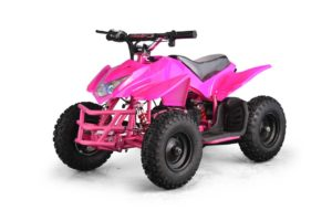 Titan Kids Electric ATV Mini Quad - Pink 3