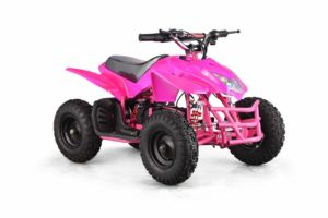 Titan Kids Electric ATV Mini Quad - Pink