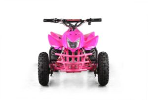 Titan Kids Electric ATV Mini Quad - Pink 4