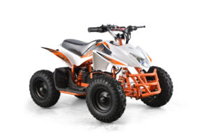 Titan Kids Electric ATV Mini Quad - White 2