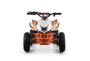 Titan Kids Electric ATV Mini Quad - White 3