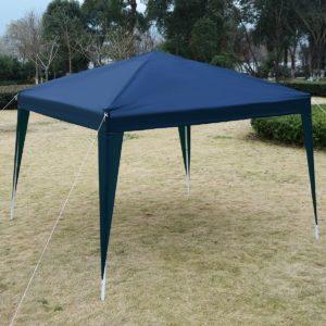 10 x 10 EZ Pop Up Canopy Tent Blue 3