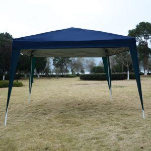 10 x 10 EZ Pop Up Canopy Tent Blue