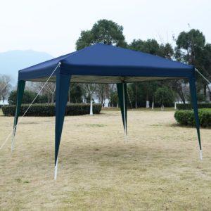 10 x 10 EZ Pop Up Canopy Tent Blue 4